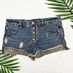 Free People | Runaway Distressed Slouched Cut Off